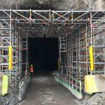 Formställning Tunnel 26 Stockholm Norviksstrand, Brinkab